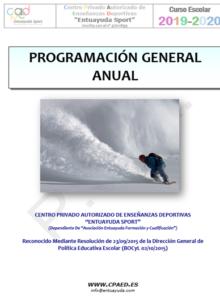 Programacion General Anual