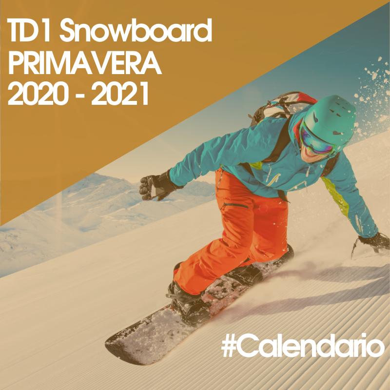 TD1 Snowboard Primavera 20/21